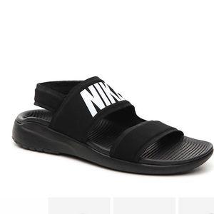 Nike Tanjun Black Sandals